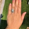 1.75ctw Edwardian Toi et Moi Old European Cut Diamond Ring  63