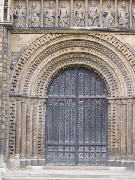 Lincoln Cathedral - West Door