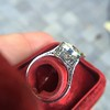 3.45ct Edwardian Old European Cut Diamond Bezel Ring 5