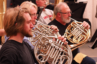Branch County Band Rehearsal