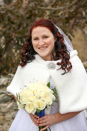 Monica Kimber and David Smith Bridal and Wedding