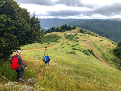 Bolinas Ridge+Barnabe Peak: May 26, 2019
