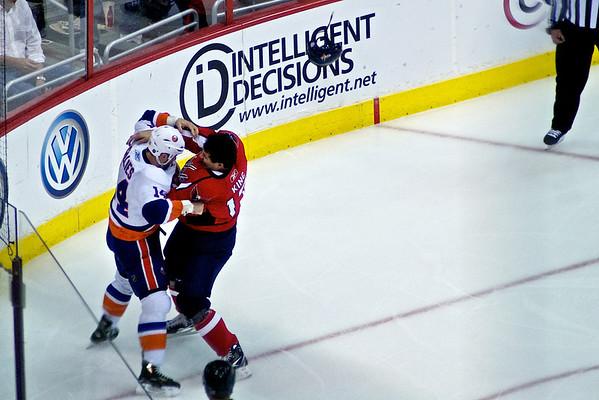Caps vs Islanders (2/1) (Oct, 13 2010)
