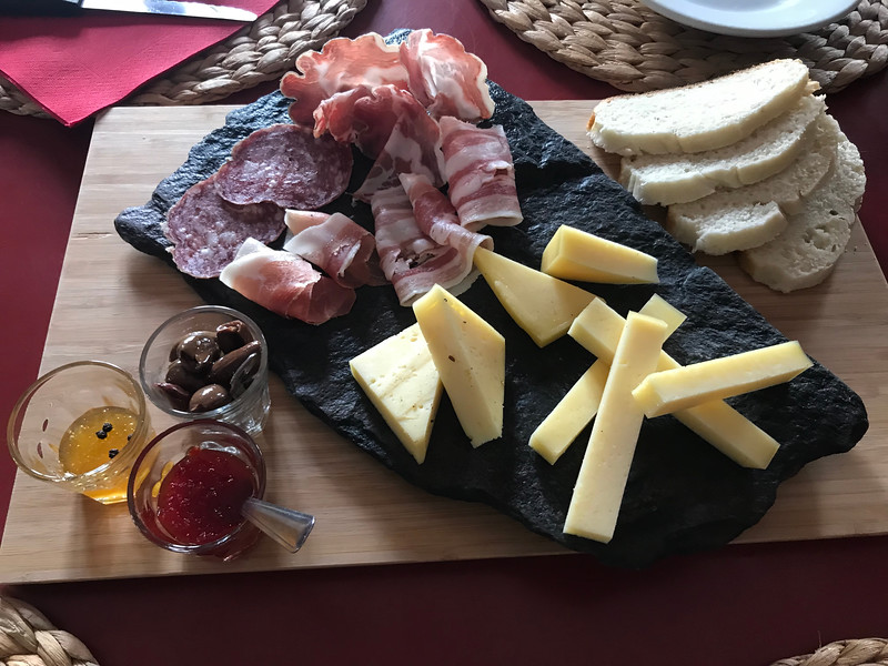 Charcuterie  was delicious