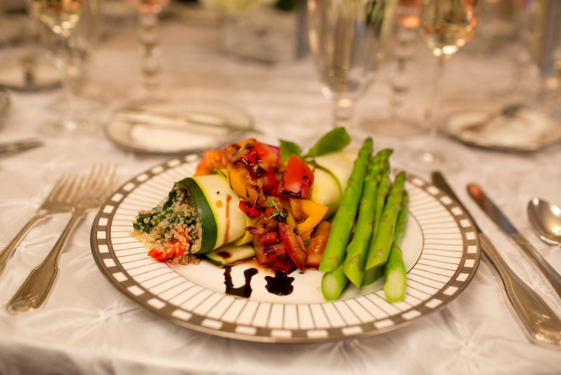 A vegetarian wedding option, Zucchini Rollatini, by the Casual Gourmet. - Home - The Casual Gourmet, Cape Cod Wedding Caterer
