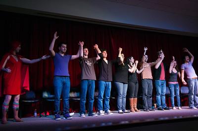 Muhlenberg College Improv performance, Dec.11, 2010