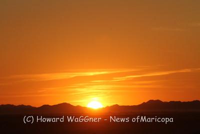 Francisco Grande sunset. 8-24-2019