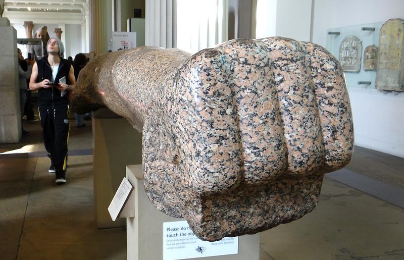 Egyptian statuary, British Museum