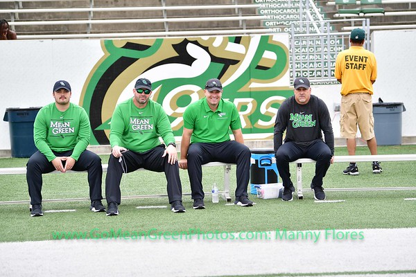 Mean Green @ Charlotte 49ers