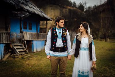 Nunta traditionala - sedinta foto Corbii de Piatra - Gabriel si Sinziana