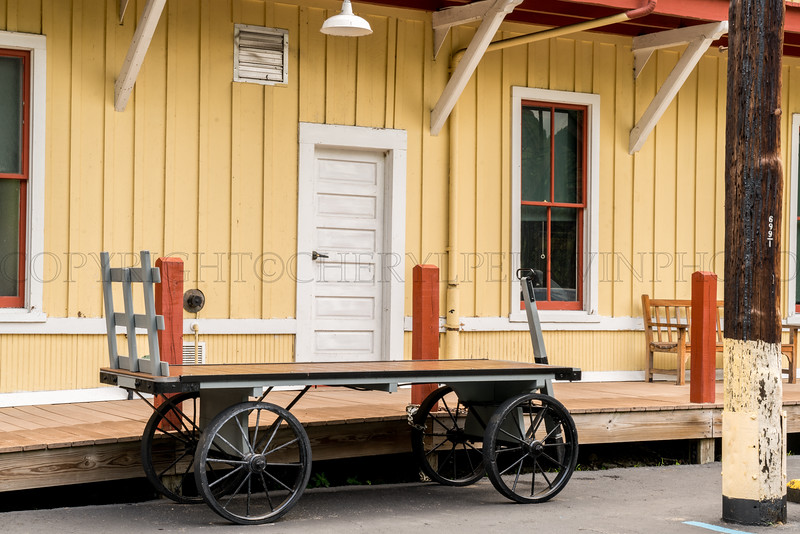 Luggage Carriage Thurmond Depot