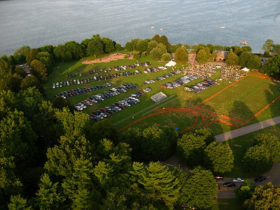 Saturday evening concert 31JUL10 Taughannock Park Cayuga Lake, Ithaca, NY