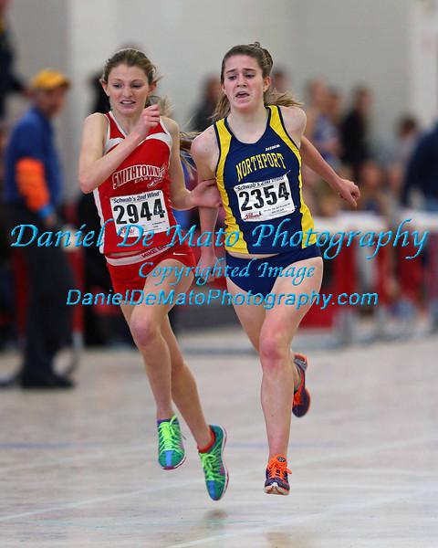 Suffolk County League II Girls Track Championship 1-26-14