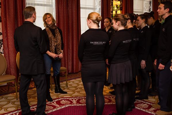 Friday reception at Hotel Monaco