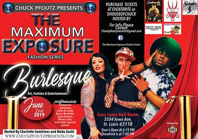 The Maximum Exposure Fashion Series: Burlesque BC