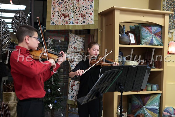 CHCA 2014 HS Strings @ 10,000 Villages Opening 11.14