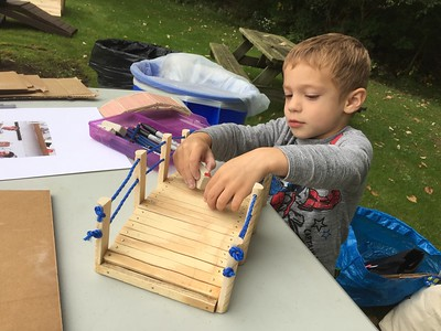 2016 Preserve Day - Bridge Building