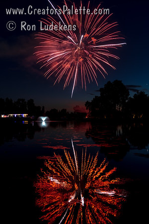 2021  3rd of July Fireworks Visalia Country Club