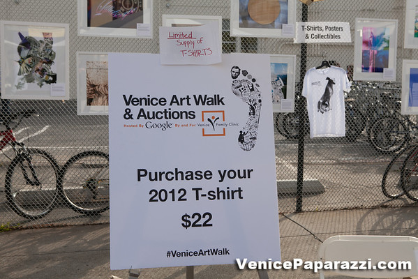 2012 & 2013 Venice Art Walk and Auctions at Google Los Angeles