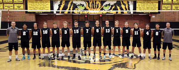 2015 Gilbert Boys Volleyball - Program Pictures