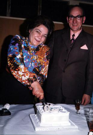 Mum and Dad Silver Wedding - 1973