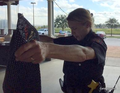 2016 10-29 Officer Sandy Sanchez's quilt