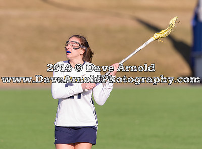 4/1/2014 - Girls Varsity Lacrosse - Hingham vs Needham