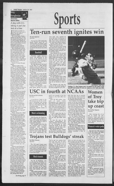 Daily Trojan, Vol. 130, No. 46, March 28, 1997