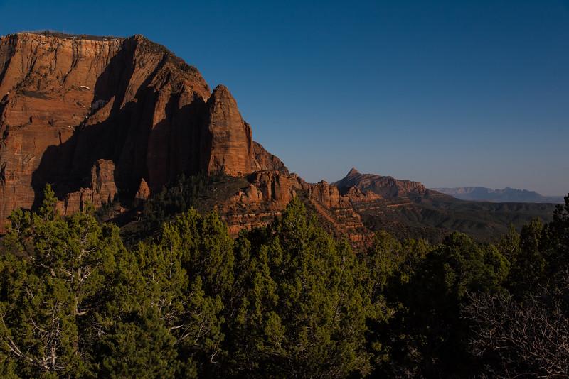 Shuntavi Butte, Kolob Canyon, Utah
