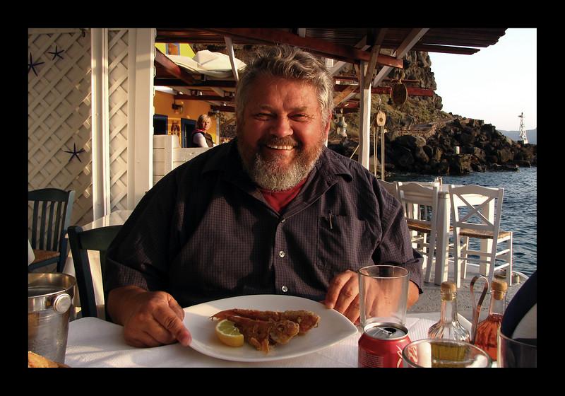 Harbor Meal - Barbuna - Oia, Santorini - 2010.jpg