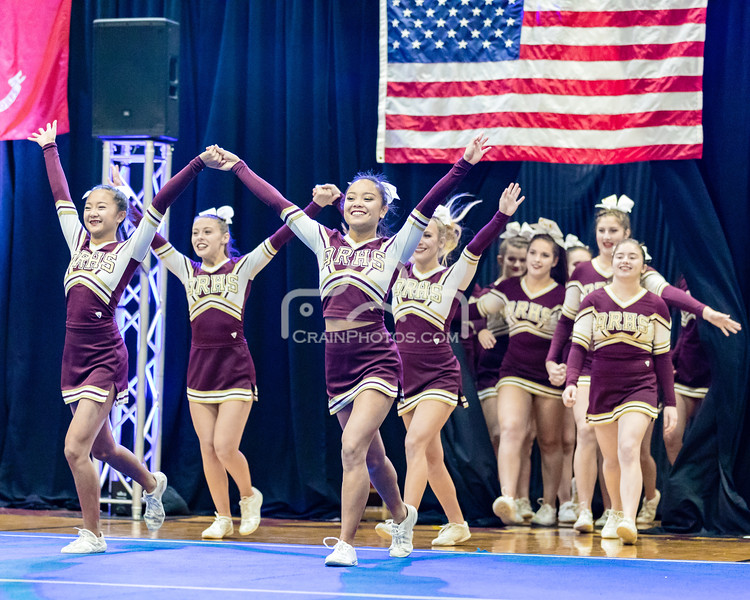 Fall 2017 Central Massachusetts Cheerleading Regional Championship