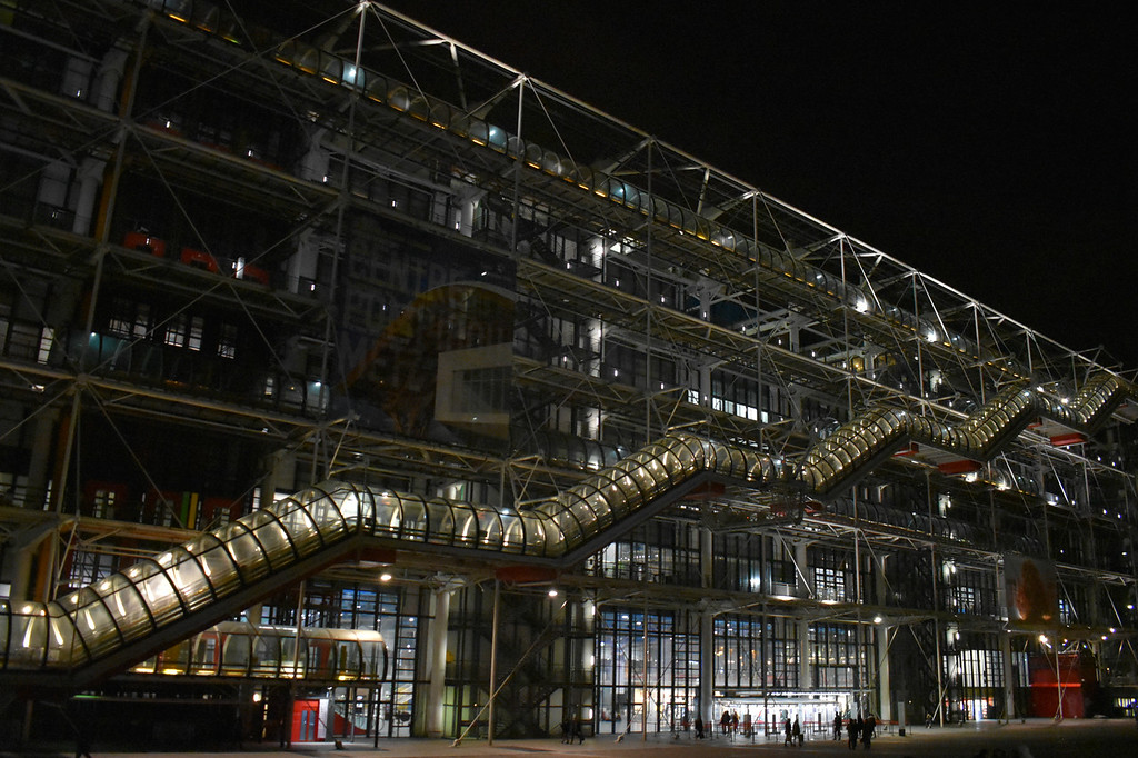 Centre Georges Pompidou in Paris, France