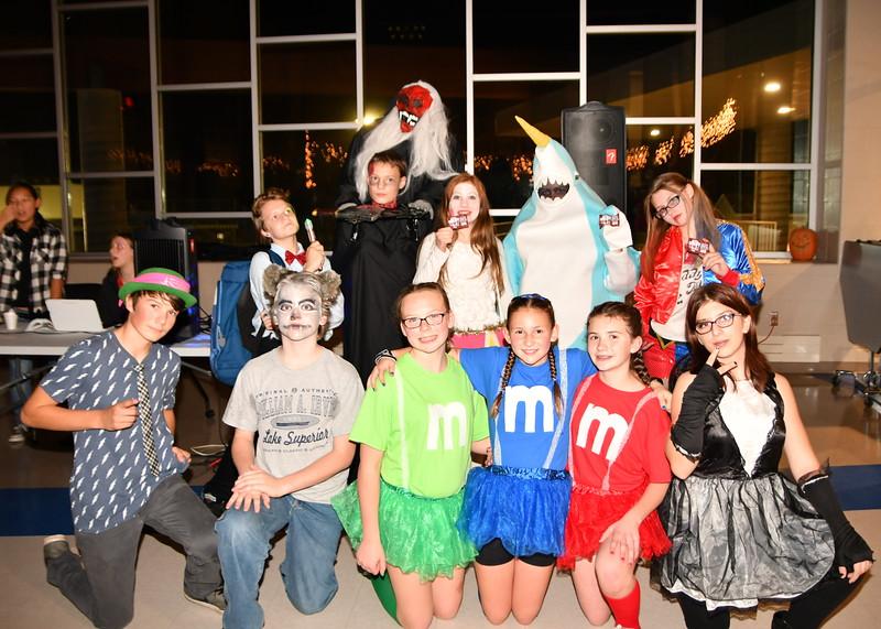 MS Halloween Dance 2016