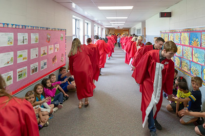 High School - 5/9/2018 Graduation Walk at Pathfinder