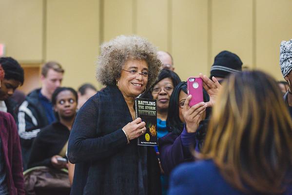 UM Flint | Angela Davis Public Lecture-Riverfront