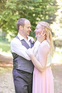 David + Jennifer's Camping Wedding