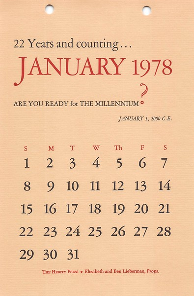 January, 1978, Herity Press