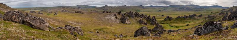 Across the Tundra countryside