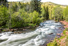 Long Exposures of the Fryingpan River, Basalt, CO