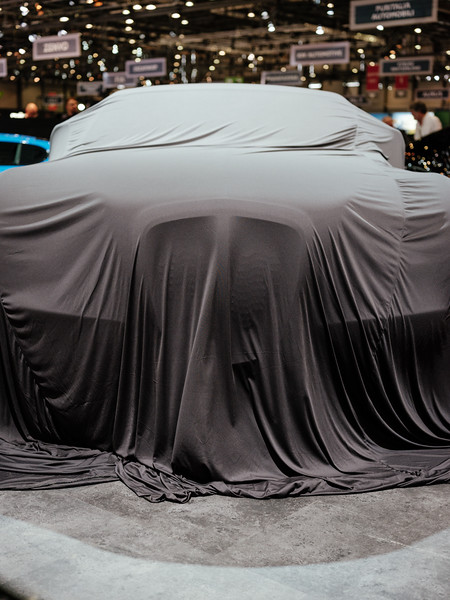 Eadon Green car under wrap - Samuel Zeller for the New York Times