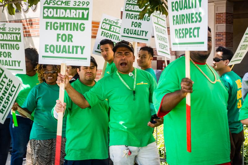 May 7 - Striking workers against, gasp, UC, Santa Monica, CA.jpg