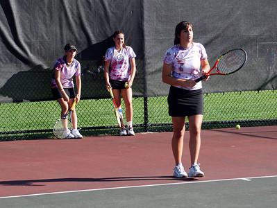 2008 Girls Tennis Team