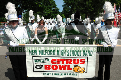 NEW MILFORD HIGH SCHOOL MARCHING BAND - 2009 MEMORIAL DAY PARADE