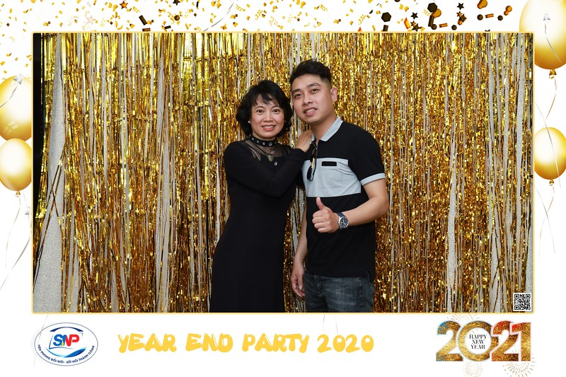 SNP | Year End Party 2020 instant print photo booth @ Landmark 81 | Chụp hình in ảnh lấy liền Tất niên 2020 tại TP Hồ Chí Minh | WefieBox Photobooth Vietnam