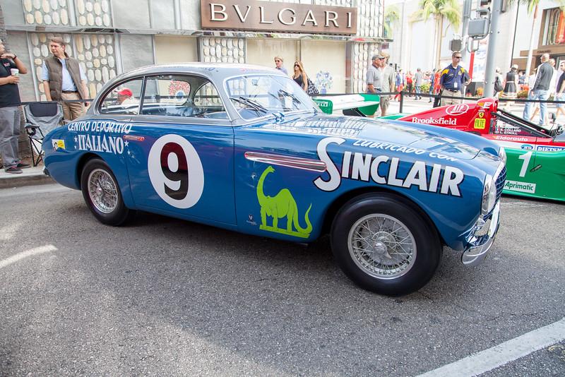 1951 Ferrari 212 Inter Vignale Coupe - 0161 EL, II Carrera Panamericana