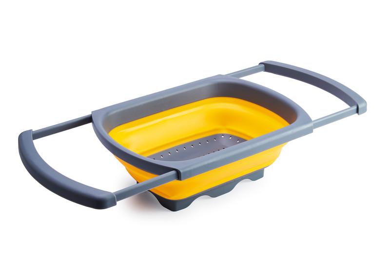 Gelmar Portable Sieve Basin, Grey & Yellow