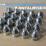 SKU: P-METALWISE/4N20, MetalWise Mach Four 200A Plasma Torch Full Power Nozzle Pack of 20