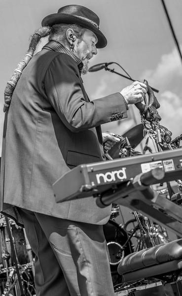 Dr. John--17th Annual Twin Cities Jazz Festival 2015-CHS Stadium, St. Paul MN.