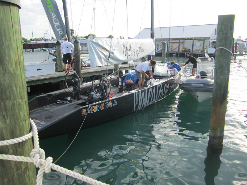 RC44's on our dock
