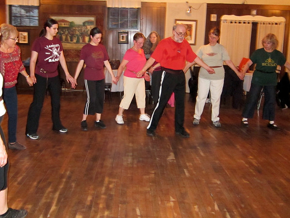 Alexander Zankin Dance Class - April 15, 2013
